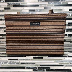 Kate Spade New York Canvas Striped Handbag
